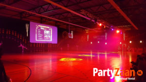 PartyZaan sporthal evenement
