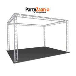 Beursstand Truss Carré 7x5x4 | PartyZaan AudioVisual Rental
