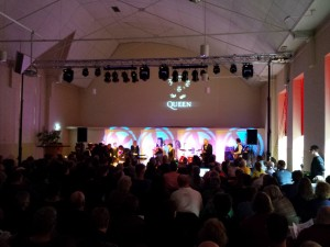 Lichtshow voor band, orkest of musical.
