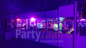 Blacklight feest party sport club vereniging