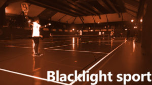 PartyZaan Blacklight sport