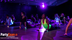 Yoga Glow in the dark blacklight