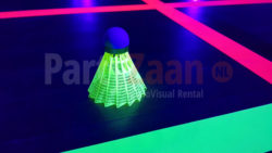 glow in the dark badminton shuttle blacklight