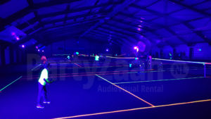PartyZaan Glow in the dark Tennis Neon
