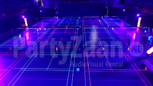 PartyZaan Blacklight Sport Badminton