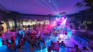 Pool party laser movinghead LED spots